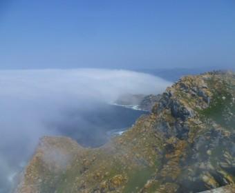 Isla Cies Aussicht vom Faro de Cies
