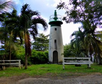 Alter Leuchtturm in Vieux Fort