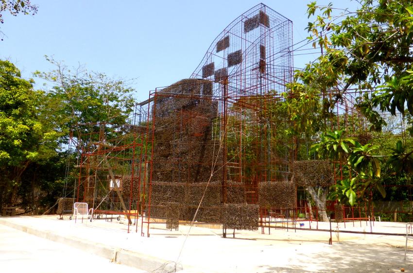 Projekt Dornendom im Landhaus Bloemhof