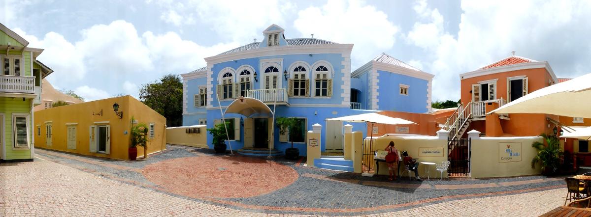 Hotel und Museum Kura Hulanda, Willemstad, Curacao