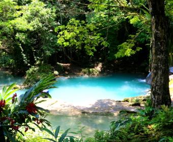 Irie Blue Hole, Jamaika
