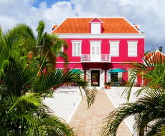 Restauriertes Haus in Pietermai/Willemstad