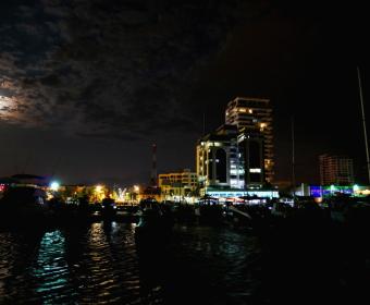 Santa Marta Hafenpromenade