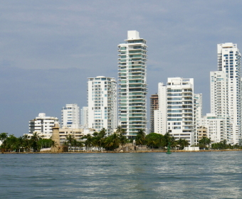 Cartagena Halbinsel Bocagrande