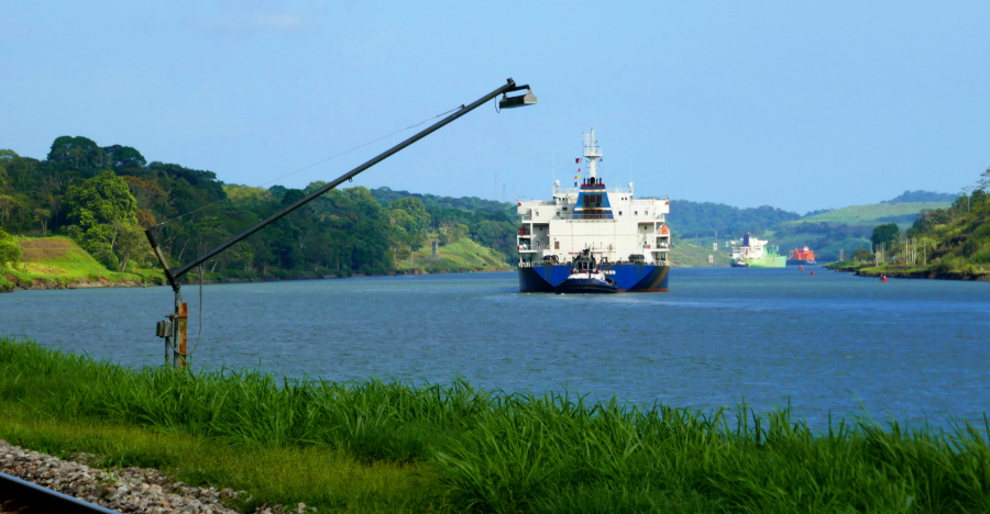Panama-Kanal bei Gamboa