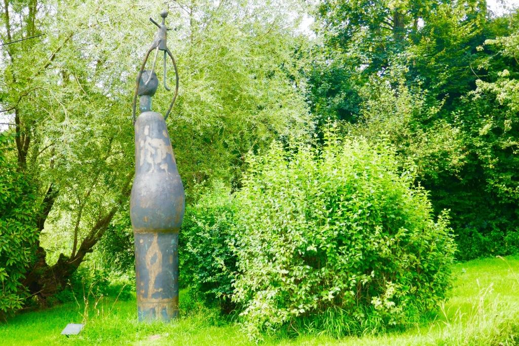 Skulpturen Radweg am Chiemsee  Skulpturen von Prof. Heinrich Kirchner